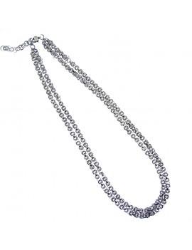 Broche pavée de cristaux inspiré d'un bijou du XVII e