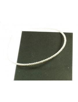 Collier long pendentif nacre