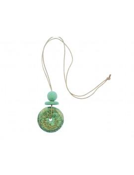 Collier pendentif turquoise...