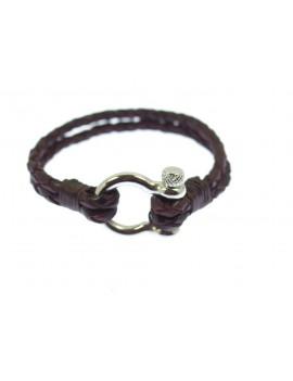 Bracelet cuir manille