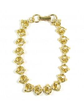 Collier chaîne anneaux