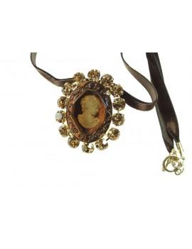 collier pendentif verre...