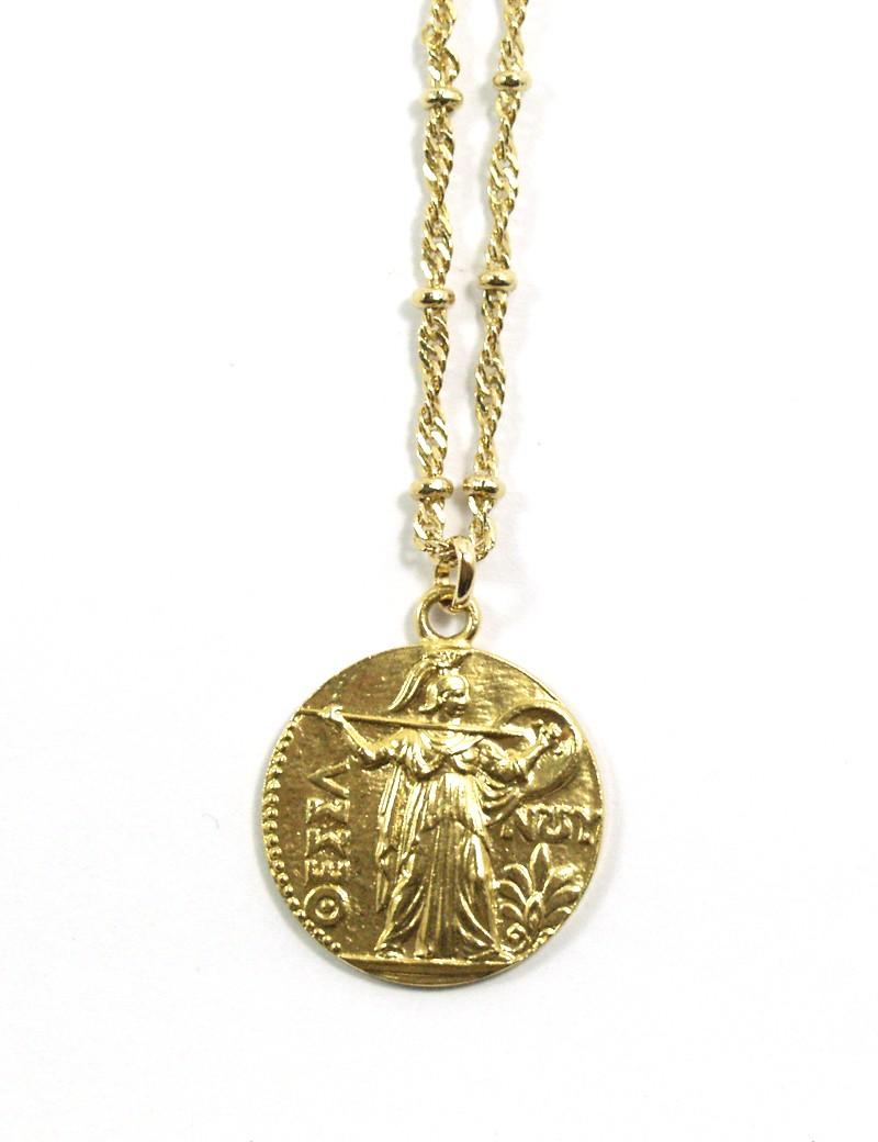 Collier médaille