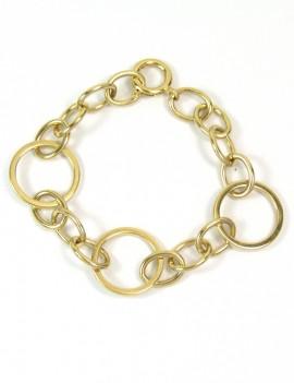 Bracelet anneaux et maillons
