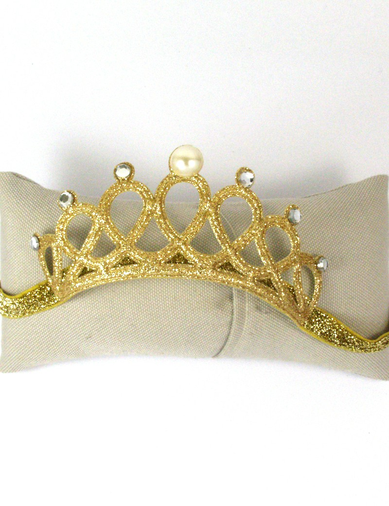 couronne élastique pour petite fille