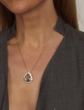 collier cristaux