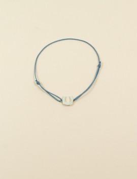Bracelet fer argent