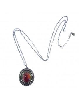 collier pendentif médaillon...