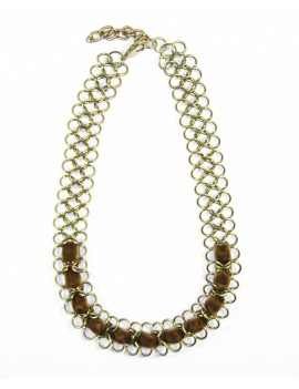 Collier grosse maille...