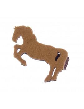 cheval sur barrette