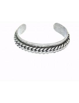 bracelet rigide argenté...