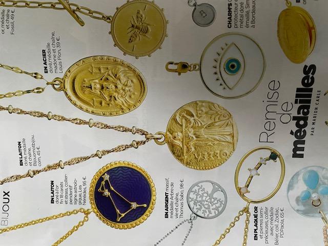 Chaîne médaille bijouornotbijou
